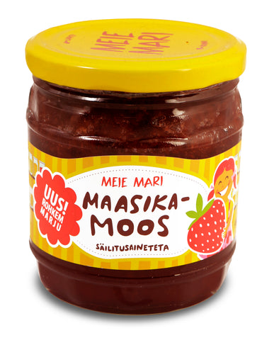 """Meie Mari"" Strawberry jam"
