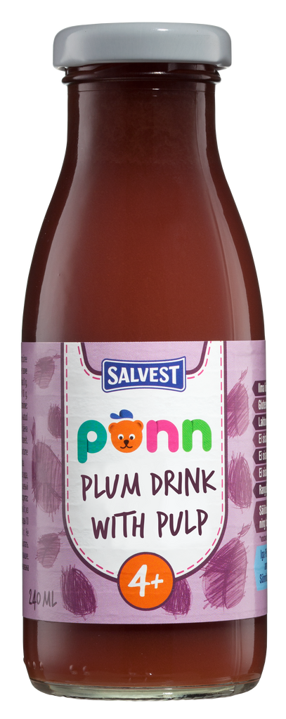 PÕNN Plum drink with pulp
