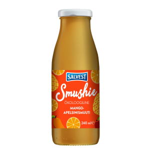 Smushie Organic Mango and orange smoothie