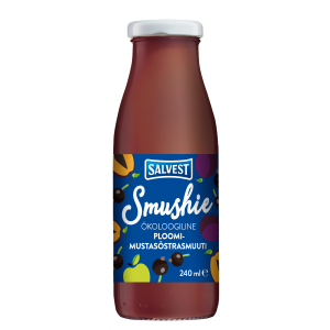 Smushie Organic Plum and blackcurrent smoothie