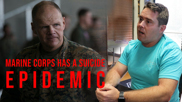 MARINE CORPS SUICIDE EPIDEMIC; ONE RET. MARINE'S SOLUTION