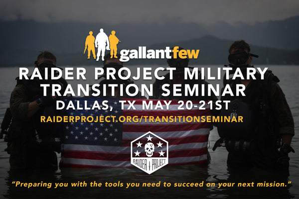 2017 Military Transition Seminar Schedule