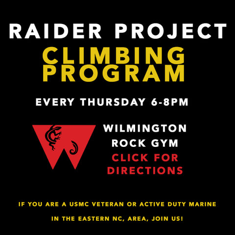 Raider Project Climbing Program