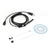 1.5M/7mm lens Rigid Cable USB Inspection Mini Camera Tube Snake IP67 Waterproof Endoscope with LED Borescope for Android Phone