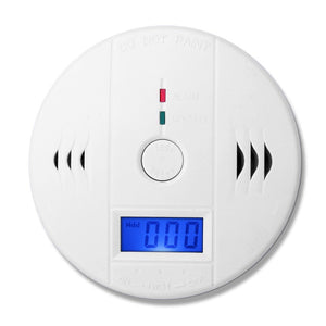 (1 PCS)LCD Display CO Carbon Monoxide Poisoning Sensor Monitor Portable and Compact Alarm Detector Home Security