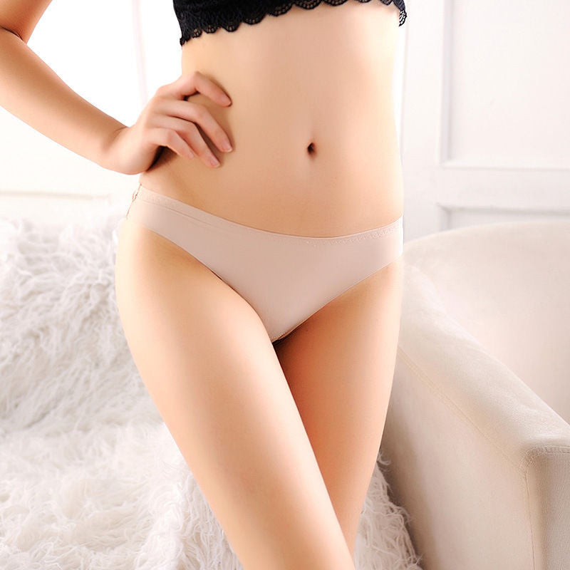 1 pc Promotion Women Underwear Panties Nylon Spandex Seamless Crotch Lingerie G-string intimates