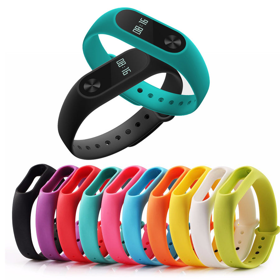 1 pcs New Arrival Smart Wristband Band Strap For Xiaomi Mi Band 2 Smart Bracelet Miband 2 Replacement Silicone Wrist Strap Smart Wearable Accessories Smart Planet Mall- upcube
