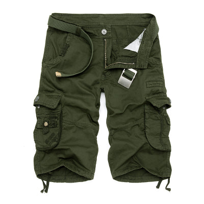 10 Colors! Mens Military Cargo Shorts 2017 Brand New Army Camouflage Shorts Men Cotton Loose Work Casual Short Pants Plus Size - upcube