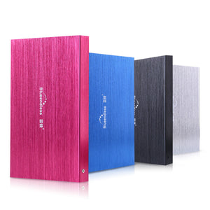 100% Portable NEW External  hard drives HDD 500GB USB3.0  for Desktop and Laptop disk storage hd