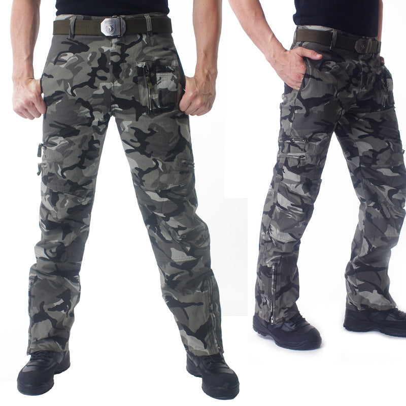 101 Airborne Tactical Pants Cotton Combat Breathable Multi Pocket Military Army Camouflage Cargo Pants Trousers For Men - upcube