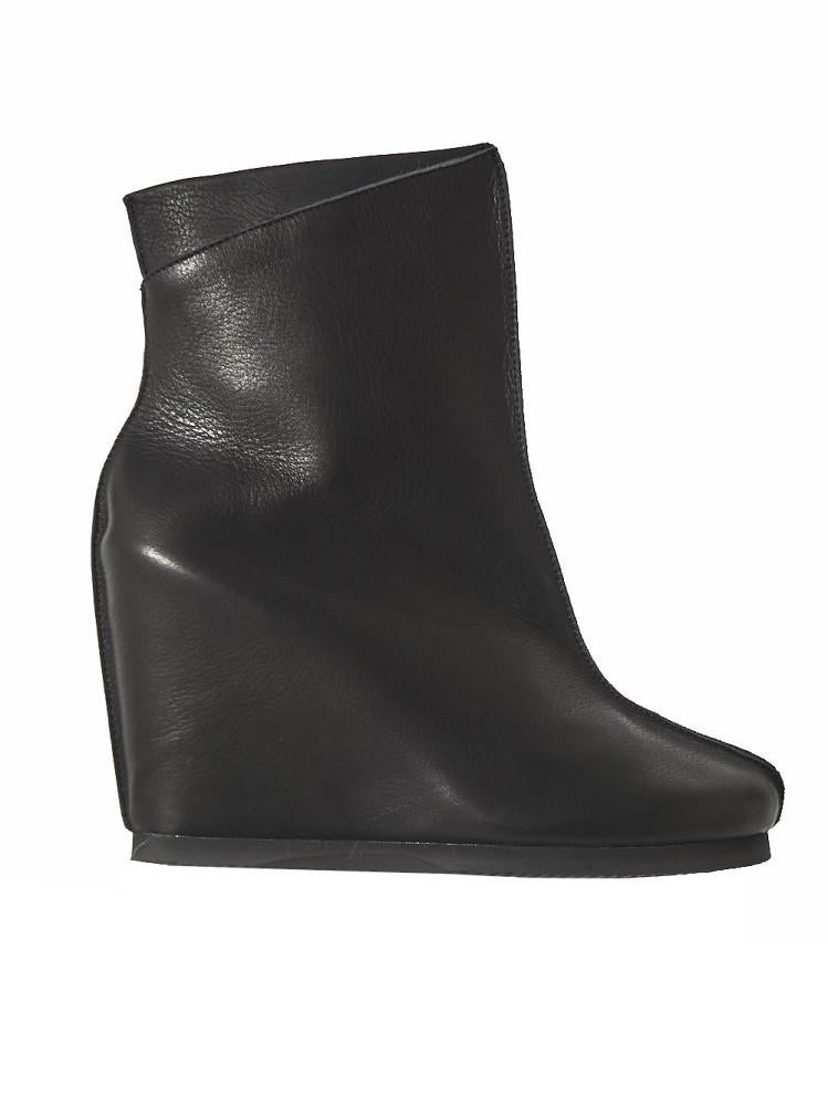 'Hora' Wedge Boot (AW16-HORA-BLACK) - upcube