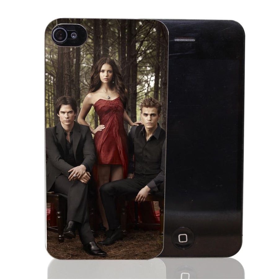 1731-HOQE The Vampire Diaries Plastic  Transparent Hard Case Cover for iPhone 6 6s plus 5 5s 5c 4 4s Phone Cases Vampire diaries ShenZhen SIX 6 Co,.Ltd- upcube