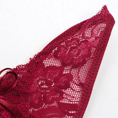 1PC Women Sexy Lingerie Lace G-String Panty Briefs Knickers Underwear Comfortable Ultra-thin Low-Rise Intimates Briefs Wholesale G-Strings, Thongs & Tangas Shenzhen Scolour Technology Co., Ltd.- upcube
