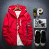 1Pc New Fashion Korean Slim Fit Young Men Hooded Jacket Thin Jackets Casual Tide 4 Colors M-5XL Mens Jackets & Coats eCity- upcube