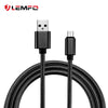 1m Nylon USB 2.0 Micro USB Data Cable Charging Cords Wire for Xiaomi Samsung Meizu Sony HTC Huawei Android Phone Smart Wearable Accessories LEMFO Official Store- upcube