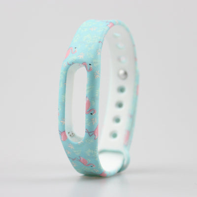 1pc Colorful Silicone Wrist Band Bracelet Wrist Strap For Xiaomi Miband Mi band 1 & 1S Smart Band Smart Wristbands Sky trading company ltd- upcube