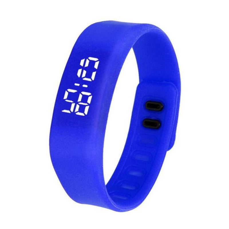 2016 8 Candy Color Watch  Womens Mens Rubber LED Watch Date Sports Bracelet Digital Wrist Watch New Arrival Free Shipping