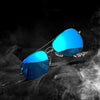 2016 Fashion Veithdia UV 400 Protection Women Men Sunglasses Metal Frame Eyeglasses Chic