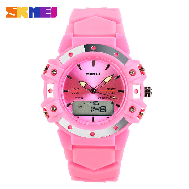 2016 New Girls / Boys Sports Watch Fashion Multifunctional Male Women's Waterproof Sports Watches Mens Watch Student Watch Male