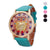 2017 Brand Fashion Womens Watch Casual Owl Pattern Leather Band Analog Quartz Watch Ladies  Sports Wristwatches relogio feminino