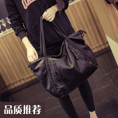 6f383cbe81e3 2017 Large Soft Leather Bag Women Handbags Ladies Crossbody Bags For Women  Shoulder Bags Female Big