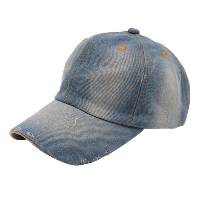 2017 New Arrival, Hot Fashion Men's Women's Jean Hats Casual Hat Casual Denim Baseball Cap Sun Hat Gorras