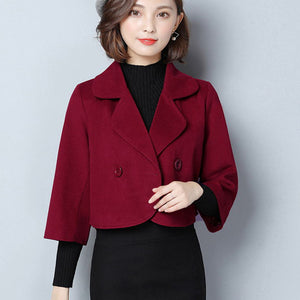 2017 Spring Women Slim Blazer Coat Casual Jacket Long Sleeve Office Work Suit Blazers Ladies Fashion Outwear Plus Size S-3XL