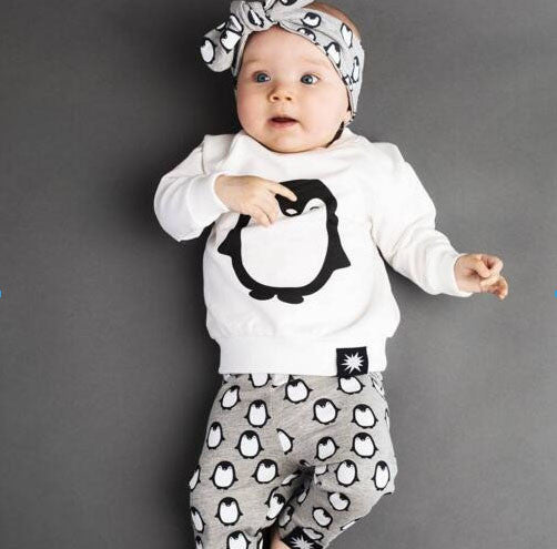 2017 summer baby fashion style baby boy clothes set, baby girl clothes soft and comfortable T-shirt + pants 2pcs sets