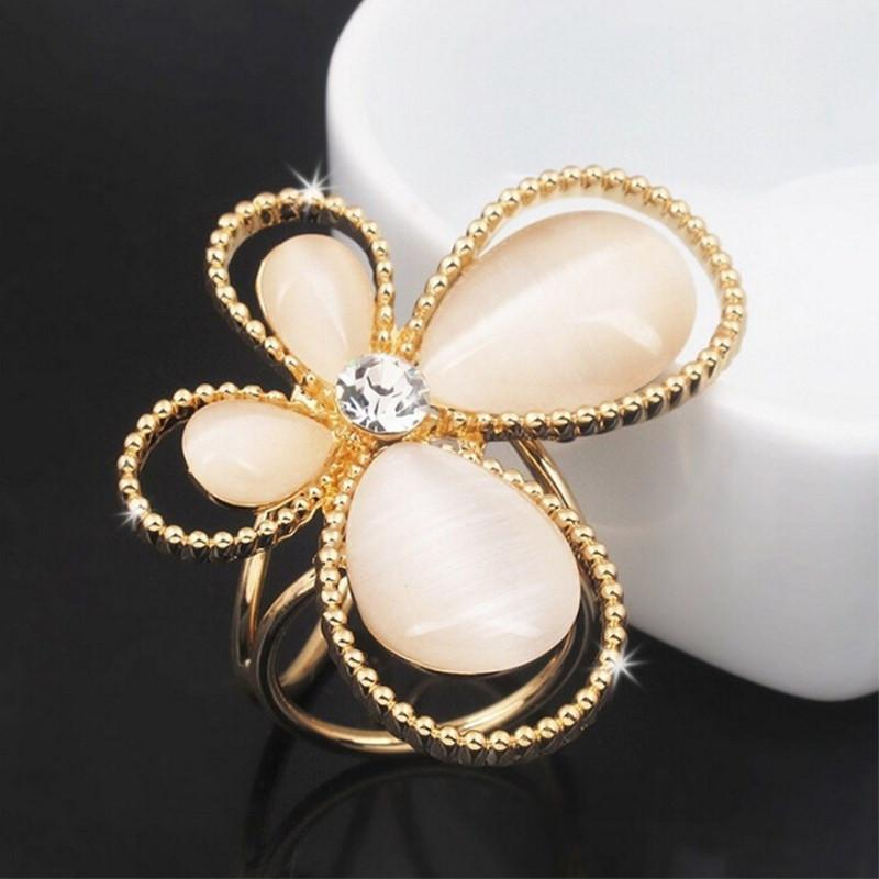 Fashion Tricyclic Butterfly Scarf Buckle Wedding Brooch Holder Scarf Jewelry