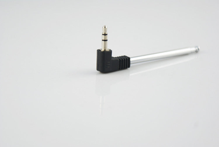 "3.5MM Radio Receiver Antenna Stainless Steel Multi-Purpose 3.5mm Interface FM Radio Antenna 9.3"" for Cell Phone Radio GPS & Accessories Hongkong Get Top Auto Accessories Co., Ltd.- upcube"