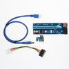 30/60CM PCIe PCI-E PCI Express Riser Card 1x to 16x USB 3.0 Data Cable SATA to 4Pin IDE Molex Power Supply for BTC Miner Machine Digital Cables unitednewfrog- upcube