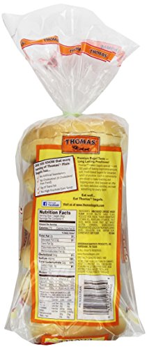 Thomas' Plain Bagels, 6 Count