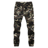 4XL Plus Size Men Bottom Pants Camouflage Cargo Denim Jeans Army Military  Slim Elastic Waist Fitness Workout Hip Hop Trousers Jeans Fantaisie- upcube