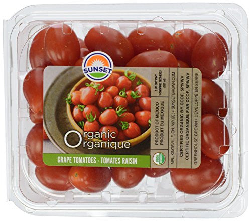 Organic Greenhouse Grape Tomatoes, 1 Pint