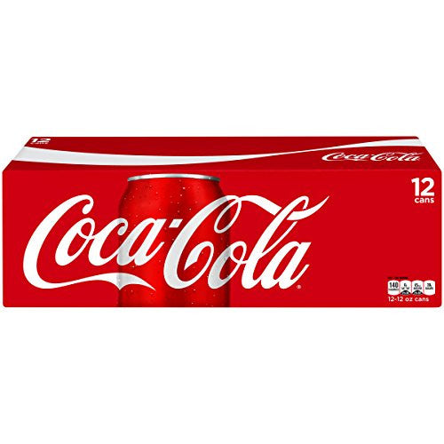 Coca-Cola, 12 fl oz, 12 Pack Grocery Amazon- upcube