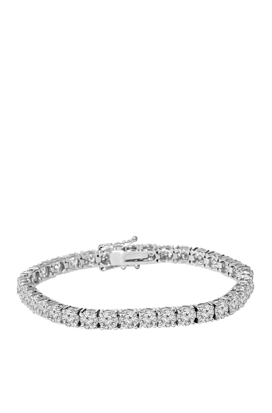 5mm Diamond Tennis Bracelet in White Gold
