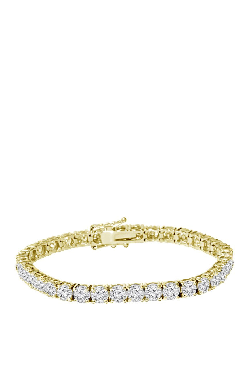 5mm Diamond Tennis Bracelet in Gold