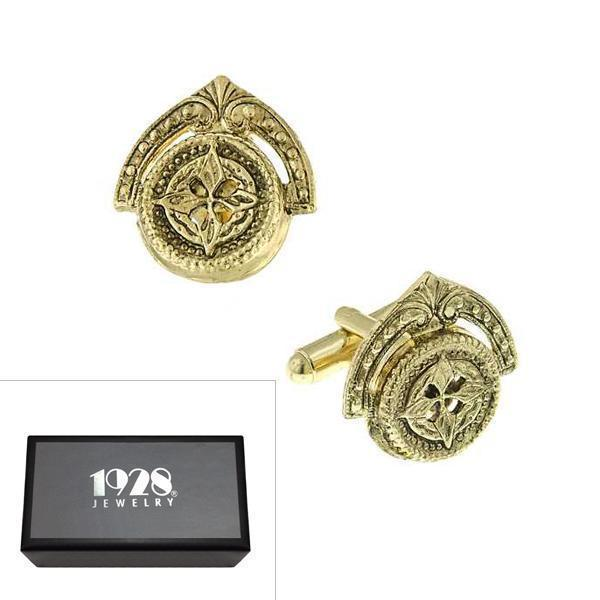 14K Gold Dipped Novelty Cufflinks - upcube