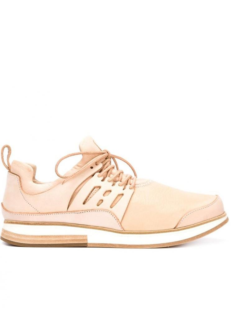 'MIP12' Natural Leather Trainer (MIP-12 NATURAL) - upcube