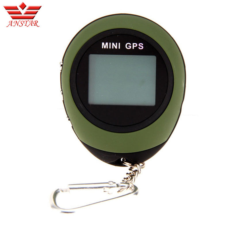 ANSTAR GPS Tracker Car MINI Locator Tracking Outdoor Hunting Portable Navigator Travel Keychain Micro Sos Handheld GPS Device