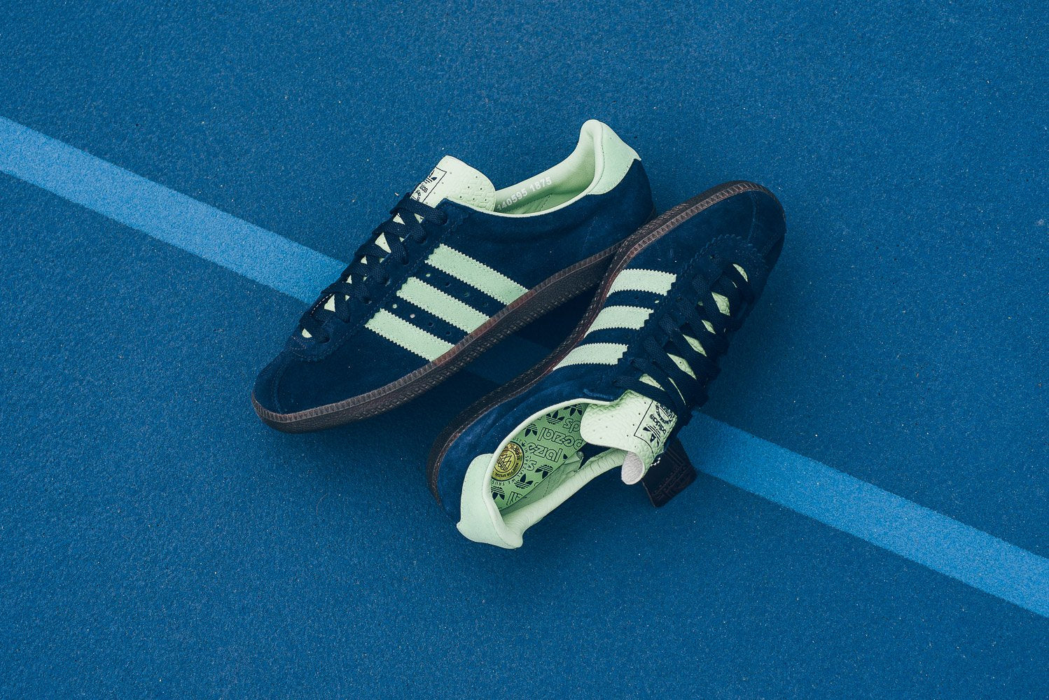 a8ab1a7f021 Adidas Padiham SPZL - Night Navy Mist Jade Night Navy
