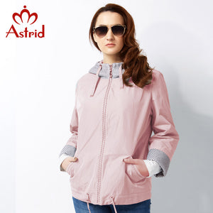 Astrid 2017 New Trench Coat for Women High quality Spring Coat Woman Trench Plus Size Fashion Women Windbreaker Big Size AS-2518