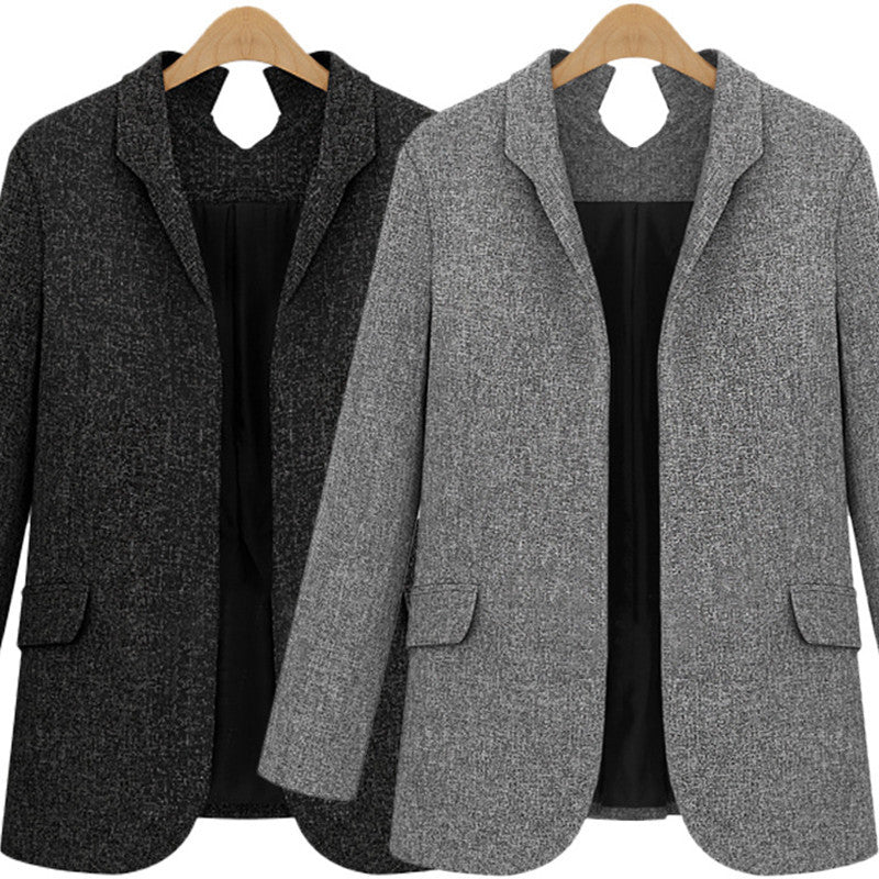 Autumn Fashion Women Slim Fit Blazer Jackets Long Sleeve Women's Blazer Women'S Jacket Office OL High-Grade Casual Female Suits