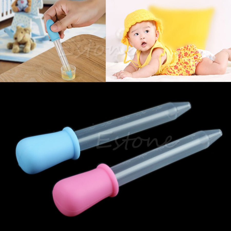 Baby Toddler Silicone Plastic Feeding Medicine Liquid Eye Ear Pipette Dropper Storage Bottles World Supermarket 2015- upcube