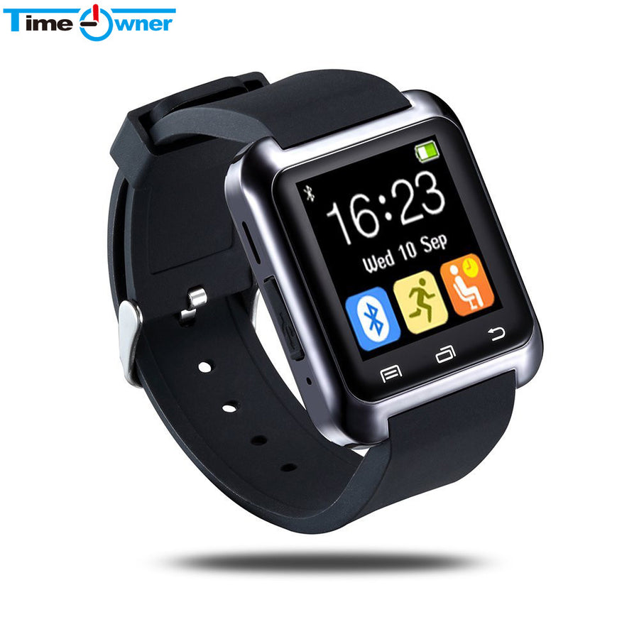 Bluetooth U80 Smart Watch BT-notification Anti-Lost MTK WristWatch for iPhone 4/4S/5/5S Samsung S4/Note 2/Note 3 Android Phone