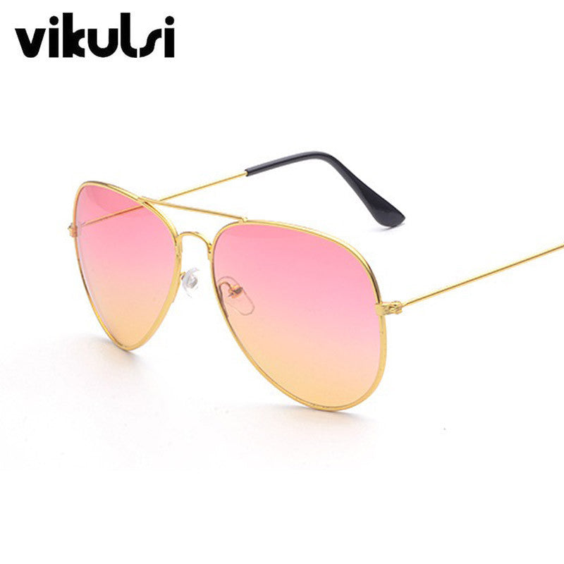Classic Aviator Sunglasses Women Luxury Brand Clear Gradient Sunglasses Rays Points Sun Glasses Men Shades Lunette Femme Glases Sunglasses vikulsi- upcube