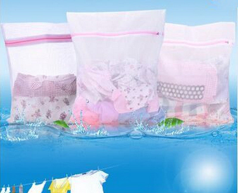 Clothes Washing Machine Laundry Bra Aid Lingerie Mesh Net Wash Bag Pouch Basket femme 3 Sizes Laundry Storage Tension Global Trade Co., Ltd.- upcube
