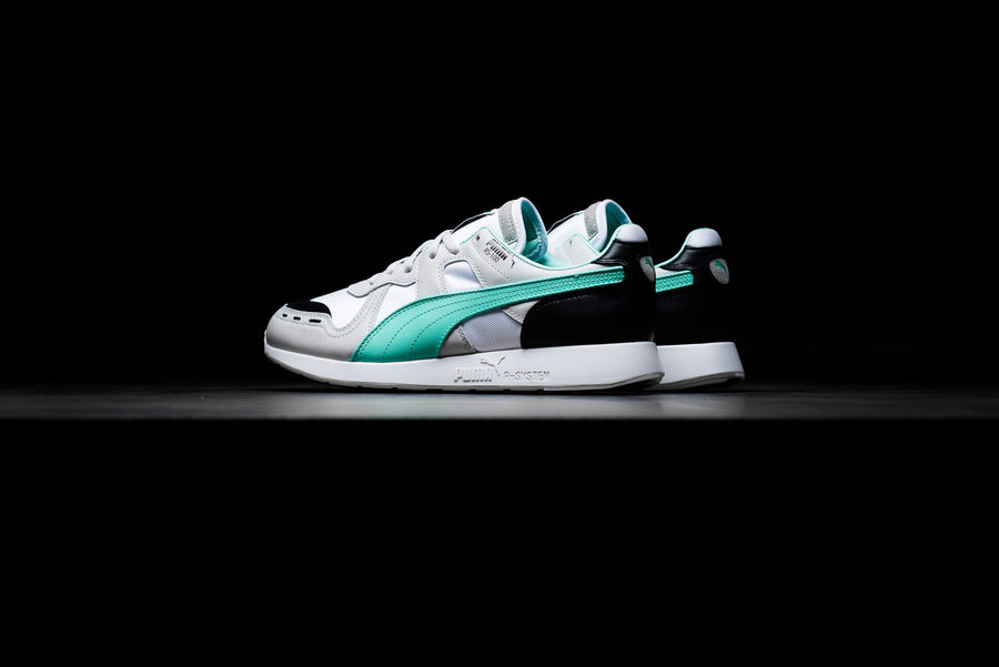 c2dce8010ff Puma RS-100 Re-Invention - Gray Violet/Biscay Green/White