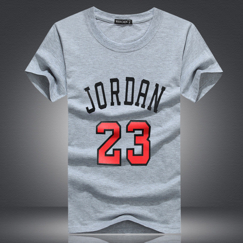 Print T Shirt Homme 2019 New Brand T-shirt Clothing Jordan 23 Print Men Swag Skate T-shirt Cotton Fitness Camisetas Hip Hop Tees With The Best Service Tops & Tees