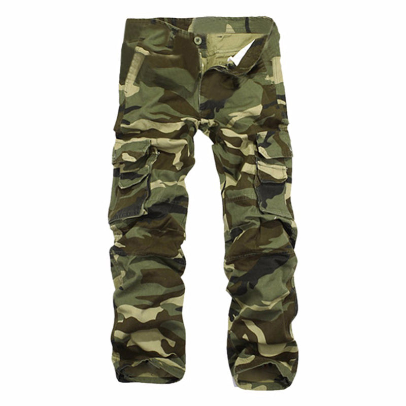 Fashion Mens Casual Camouflage Sweatpants Thickening Joggers  Trousers Man Brand Cargo Pants Pantalons Homme